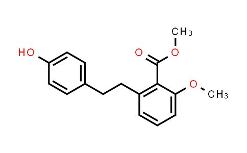 Methyl 2-[2-(4-hydroxyphenyl)ethyl]-6-methoxy-benzoate