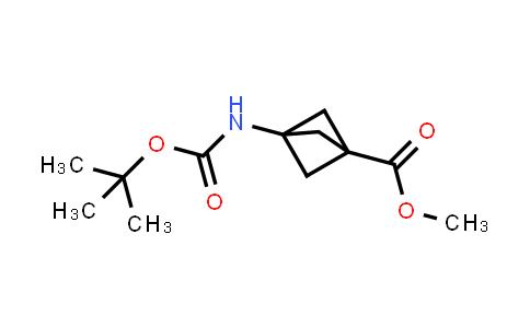 Methyl 3-(tert-butoxycarbonylamino)bicyclo[1.1.1]pentane-1-carboxylate