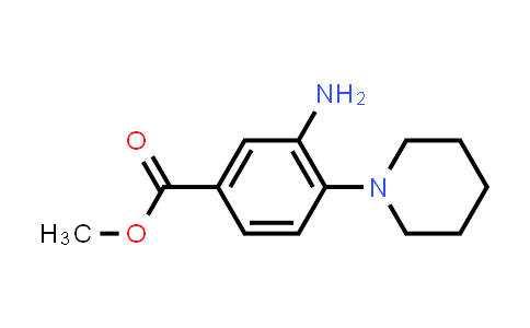 Methyl 3-amino-4-piperidin-1-ylbenzoate