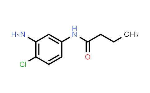 N-(3-amino-4-chloro-phenyl)butanamide