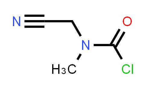 N-(cyanomethyl)-N-methylcarbamoyl chloride