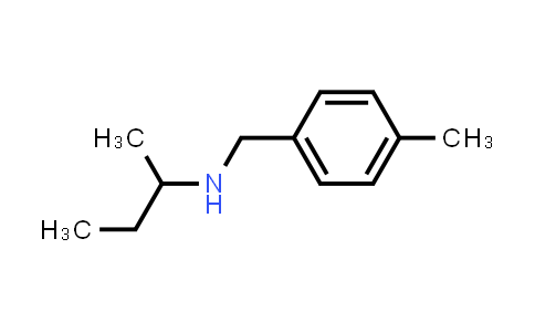 N-(p-tolylmethyl)butan-2-amine