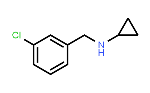 N-[(3-chlorophenyl)methyl]cyclopropanamine