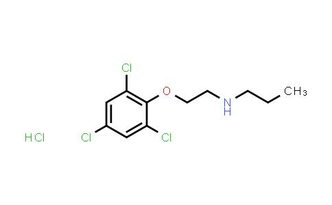 N-[2-(2,4,6-trichlorophenoxy)ethyl]propan-1-amine hydrochloride