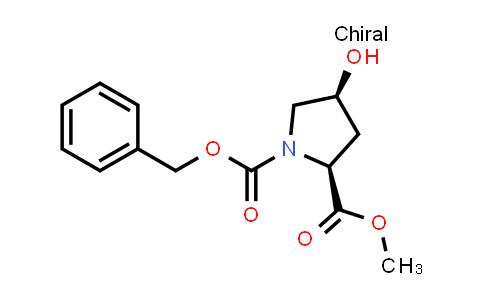 O1-Benzyl O2-methyl (2S,4S)-4-hydroxypyrrolidine-1,2-dicarboxylate