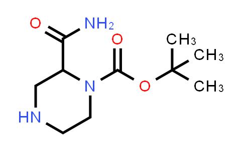 tert-Butyl 2-carbamoylpiperazine-1-carboxylate