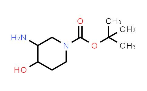 tert-Butyl 3-amino-4-hydroxy-piperidine-1-carboxylate