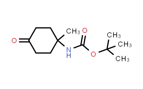 tert-butyl N-(1-methyl-4-oxo-cyclohexyl)carbamate