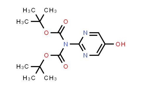 tert-Butyl N-tert-butoxycarbonyl-N-(5-hydroxypyrimidin-2-yl)carbamate