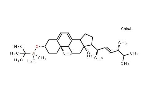tert-butyl-[[(3S,10R,13R)-10,13-Dimethyl-17-[(E,1R,4R)-1,4,5-trimethylhex-2-enyl]-2,3,4,9,11,12,14,15,16,17-decahydro-1H-cyclopenta[a]phenanthren-3-yl]oxy]-dimethyl-silane