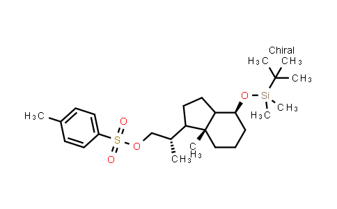 [(2S)-2-[(4S,7aR)-4-(tert-butyl(dimethyl)silyl)oxy-7a-methyl-1,2,3,3a,4,5,6,7-octahydroinden-1-yl]propyl] 4-methylbenzenesulfonate