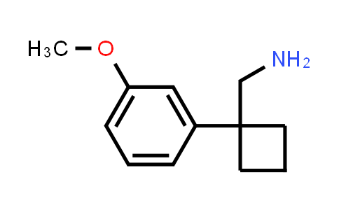[1-(3-methoxyphenyl)cyclobutyl]methanamine