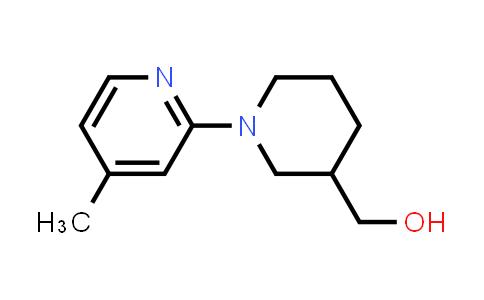 [1-(4-methyl-2-pyridyl)-3-piperidyl]methanol