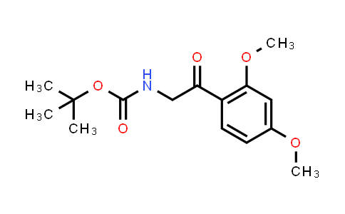 [2-(2,4-Dimethoxy-phenyl)-2-oxo-ethyl]-carbamic acid tert-butyl ester