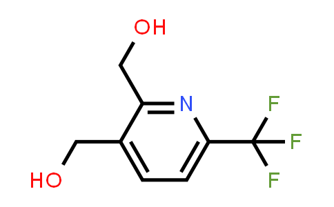 [2-(hydroxymethyl)-6-(trifluoromethyl)-3-pyridyl]methanol
