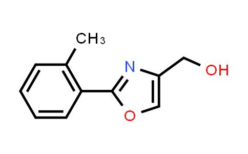[2-(o-tolyl)oxazol-4-yl]methanol