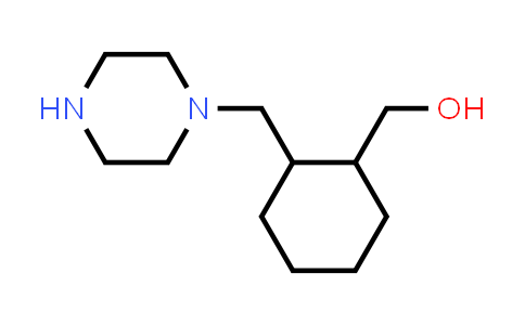 [2-(piperazin-1-ylmethyl)cyclohexyl]methanol