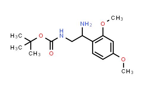 [2-Amino-2-(2,4-dimethoxy-phenyl)-ethyl]-carbamic acid tert-butyl ester