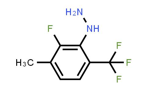 [2-fluoro-3-methyl-6-(trifluoromethyl)phenyl]hydrazine