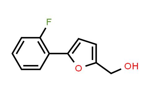 [5-(2-fluorophenyl)-2-furyl]methanol