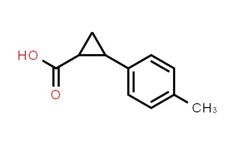 2-(p-Tolyl)cyclopropanecarboxylic acid