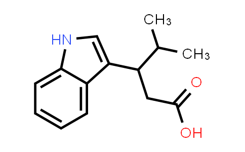 3-(1H-Indol-3-yl)-4-methylpentanoic acid