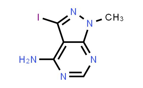3-Iodo-1-methyl-pyrazolo[3,4-d]pyrimidin-4-amine