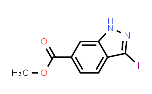 3-Iodo-1H-indazole-6-carboxylic acid methyl ester