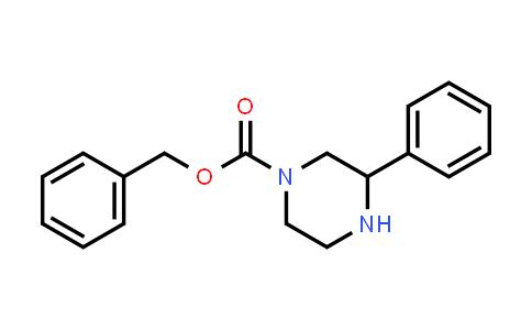 3-Phenyl-piperazine-1-carboxylic acid benzyl ester