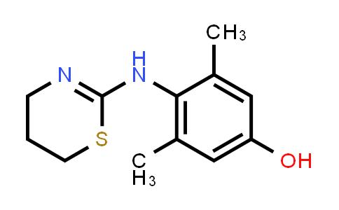 4-(5,6-Dihydro-4H-1,3-thiazin-2-ylamino)-3,5-dimethyl-phenol