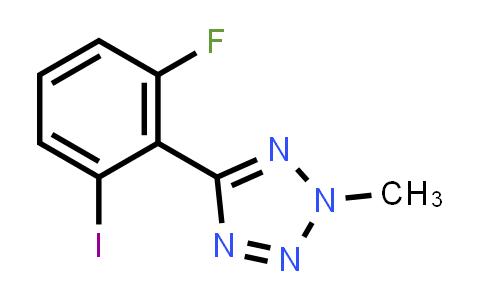 5-(2-fluoro-6-iodo-phenyl)-2-methyl-tetrazole