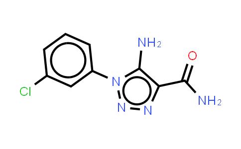 5-Amino-1-(3-chlorophenyl)triazole-4-carboxamide