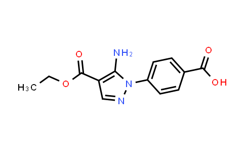 5-Amino-1-(4-carboxy-phenyl)-1H-pyrazole-4-carboxylic acid ethyl ester
