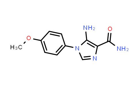 5-amino-1-(4-methoxyphenyl)imidazole-4-carboxamide