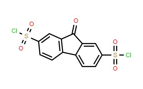 9-Oxofluorene-2,7-disulfonyl chloride