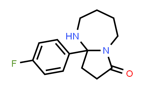 9a-(4-Fluorophenyl)-octahydro-1H-pyrrolo[1,2-a][1,3]diazepin-7-one