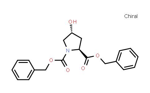 dibenzyl (2S,4R)-4-hydroxypyrrolidine-1,2-dicarboxylate