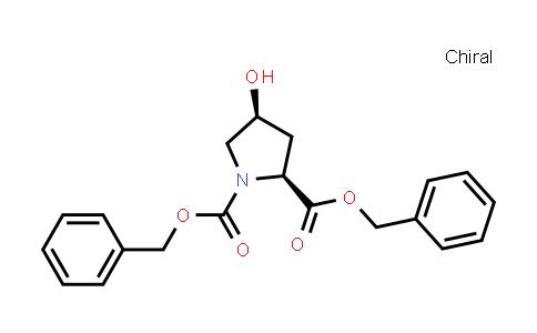 dibenzyl (2S,4S)-4-hydroxypyrrolidine-1,2-dicarboxylate