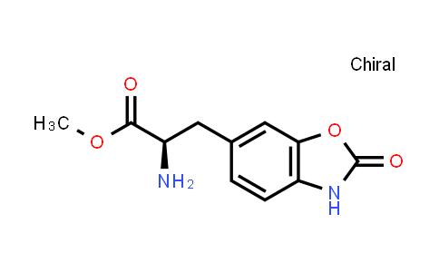 Methyl (2R)-2-amino-3-(2-oxo-3H-1,3-benzoxazol-6-yl)propanoate
