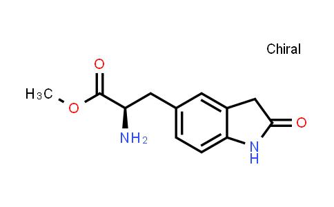 Methyl (2R)-2-amino-3-(2-oxoindolin-5-yl)propanoate