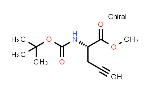Methyl (2S)-2-(tert-butoxycarbonylamino)pent-4-ynoate