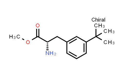 Methyl (2S)-2-amino-3-(3-tert-butylphenyl)propanoate