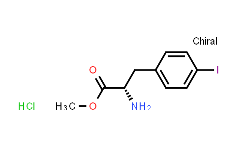 Methyl (2S)-2-amino-3-(4-iodophenyl)propanoate hydrochloride