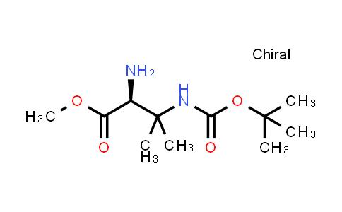 Methyl (2S)-2-amino-3-(tert-butoxycarbonylamino)-3-methyl-butanoate
