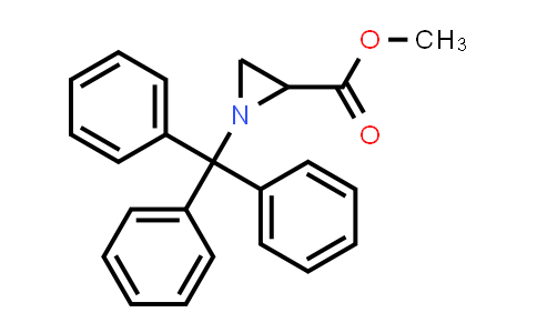 Methyl 1-tritylaziridine-2-carboxylate