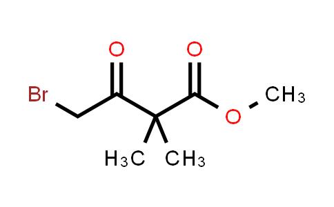 Methyl 4-bromo-2,2-dimethyl-3-oxo-butanoate