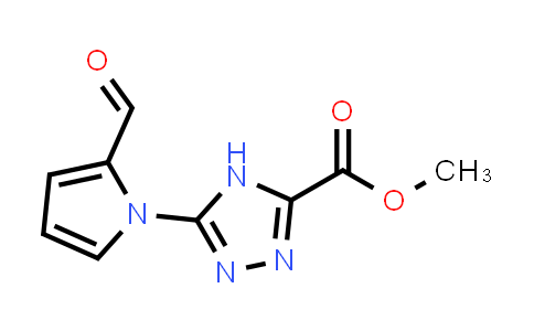 Methyl 5-(2-formylpyrrol-1-yl)-4H-1,2,4-triazole-3-carboxylate
