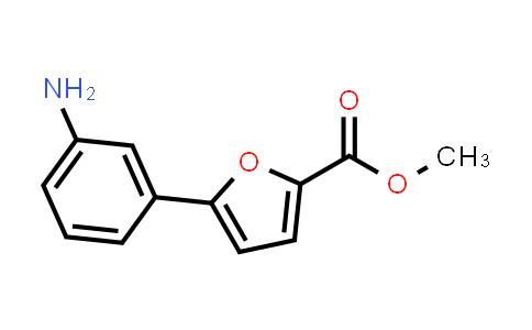 Methyl 5-(3-aminophenyl)furan-2-carboxylate