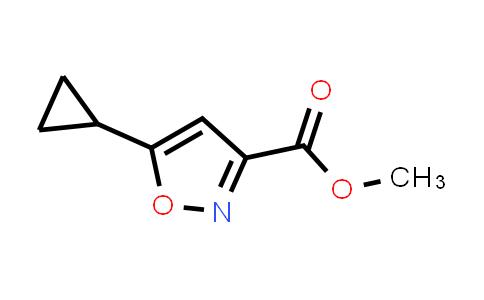 methyl 5-cyclopropylisoxazole-3-carboxylate