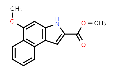 Methyl 5-methoxy-3H-benzo[e]indole-2-carboxylate